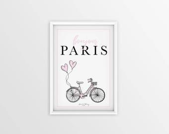Bonjour Paris Printable