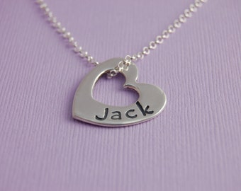 Personalized Close to My Heart -  Name Necklace