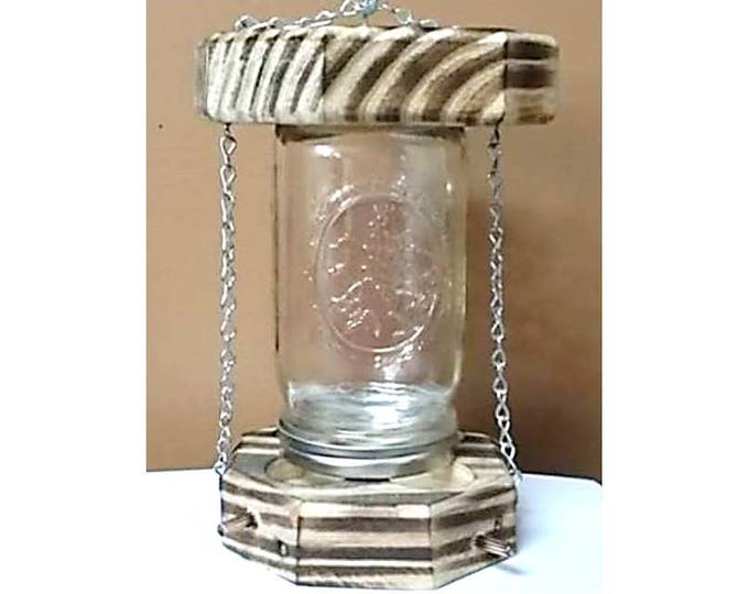 Clear Bird Feeder