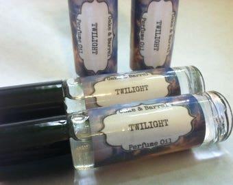 Twilight Perfume Oil. 10 ml Roll On Glass Bottle. Lush Type.