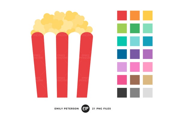 popcorn clip art circus carnival clipart movie theater clip art rh etsystudio com clipart popcorn black and white clipart popcorn black and white