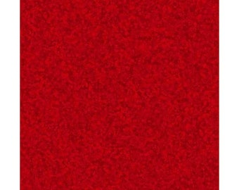 Color Blend~Red Cotton Fabric By Quilting Treasures