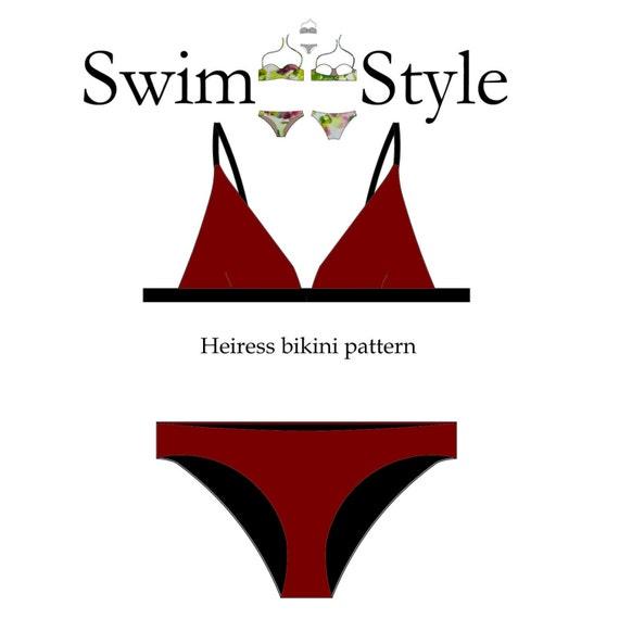 Heiress Women s bikini sewing pattern
