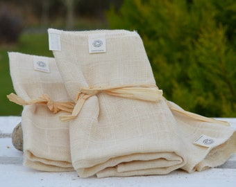 Organic Muslin Cleansing Clothes