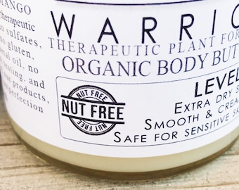 Nut-FREE Body Butter || Level 5 Moisturizer || Mango Butter || For Ultra Dry Skin || 100% Plants || Therapeutic Plant Formulas
