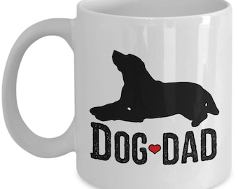Dog Dad Father's Day Gift Animal Lover Lab Mug Rescue Love Coffee Cup