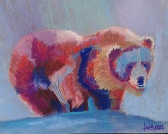 Grizzly Bear Snow