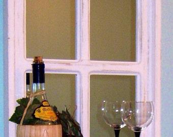 White Window Mirror, White Mirror, Window Mirror, Vanity Mirror, Bathroom Mirror, Wall Mirror, Home Decor, Living Room Mirror Bedroom Mirror