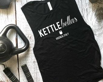 Kettlebellas Muscle Tank