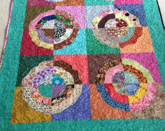 Quilt - Running in Circles - Ready to Ship