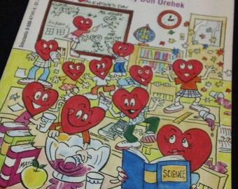 101 Valentine Jokes by Pat Brignadi ~ illustrated by Don Orehek - vintage 1994 Scholastic Press children's paperback joke book