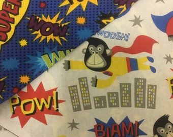 Super Monkey Double Sided Dog Bandana