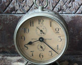 Antique Vintage Westclox Big Ben Copy Japan Intermittent Alarm Clock