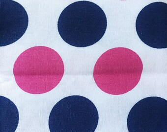"Fabric prints ""contrasted dots"""