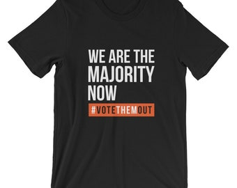 Youth At The Gates Voting Shirts Young Voters Gen-Z Tshirt - We Are The Majority Now Tee