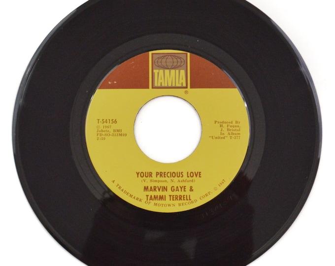 Vintage 60s Marvin Gaye & Tammi Terrell Your Precious Love Motown Soul 45 RPM Single Record Vinyl