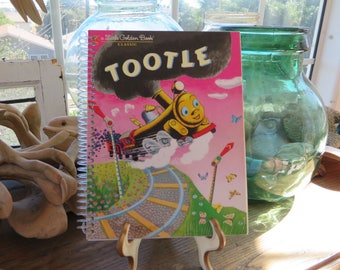 Little Golden Book Notebook - Spiralbound 60 blank pages with full story included