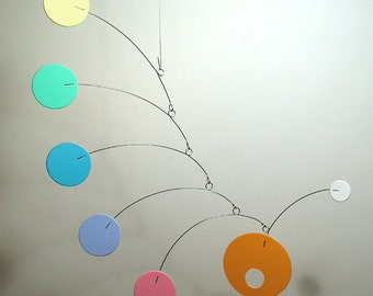 Art Mobile i-Mod Baby Nursery Hanging Decor Small Custom Colors