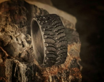 Mud tire tread ring Etsy