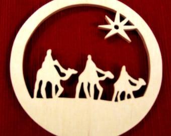 Three Kings Ornament - Wise Men Ornament - Magi Ornament