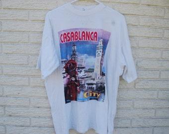 CASABLANCA CITY Vintage Picture Shirt