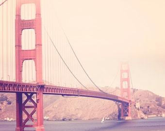 Golden Gate Bridge - photo de Californie photo 8 x 10 - photographie rétro Vintage San Francisco - fine art print - - - San Francisco