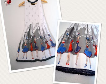 Beautiful summer dress in size 5-14years