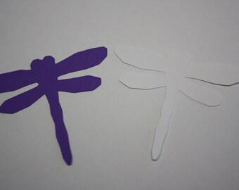 18 x Dragonfly Die Cuts