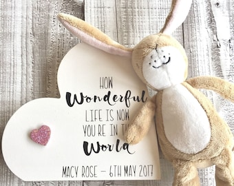 Personalised Wooden Heart Gift