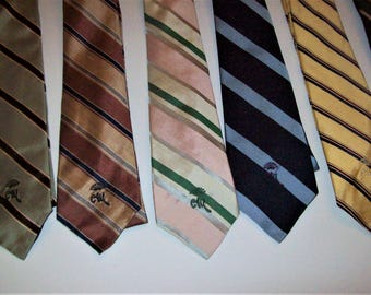 Vintage Countess Mara neck-ties FOUR for the price of one.  Beautiful , like new  condition !