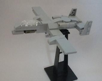 Fairchild-Republic A-10 miniscale build out of LEGO® bricks