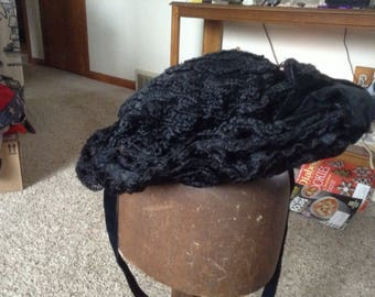Civil war mourning hat