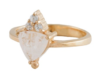 Valentina Ring with Moonstone