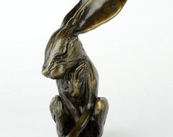 Bronze Daydreaming Hare Ltd edition