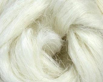 Flax/Linen Top - 1, 2 or 4 ounce sizes - Natural Fiber - Undyed - Spinning Fiber - Blending Fiber - Ready To Ship