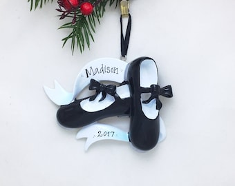 Tap Shoes Ornament / Personalized Ornament Tap Dancer / Dancer Ornament / Dance Ornament / Dance Class