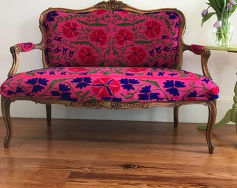 Bohemian French Settee