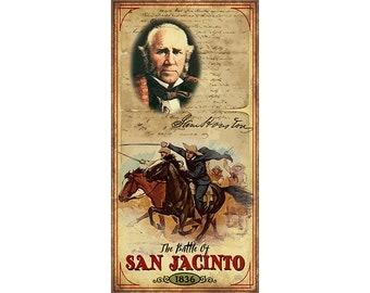 Battle of San Jacinto, Texas History, Sam Houston, Texas Independence, San Antonio