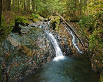 Foote Brook - Upper Falls - Autumn