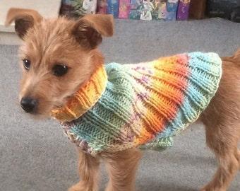 Knitting Pattern - Reggie's Ribbed Jumper