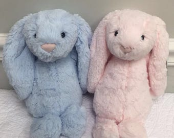 Personalized Bunny With Chime