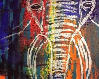 Outline Puzzle Art