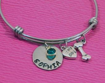 Dog Lover Gift   Dog Lover Bracelet   Dog Owner Gift   Dog Jewelry   Dog Bracelet   Dog lover Jewelry   Pet Lover Gift   Rescue Dog Gift  