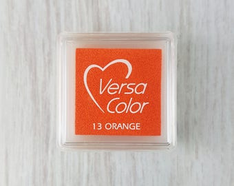 VersaColor Pigment Ink Pad Small in Orange