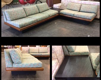 Adrian Pearsall Craft Associates 3 Piece Sectional Sofa