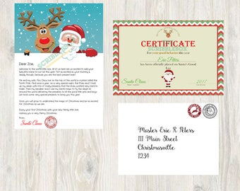 Santa Letter Digital Package