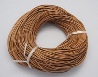 5 meters cord CALFSKIN of Peru (2 mm)