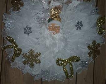 Beautiful Santa wreath