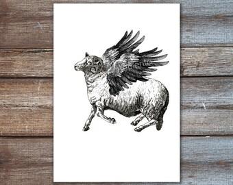 tattoo art, tattoo print, ram art