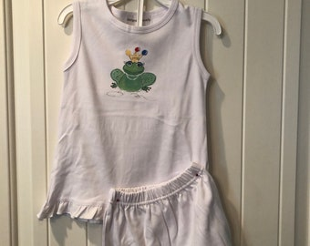 Princess Frog Tank/Short Loungewear